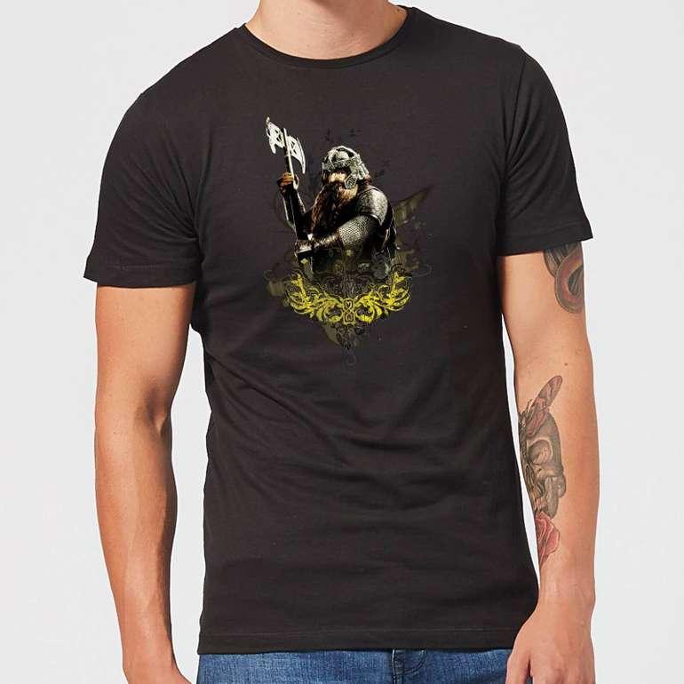 Zavvi: 40% Rabatt auf Herr der Ringe Kleidung + gratis Versand, z.B. T-Shirts ab 10,19€