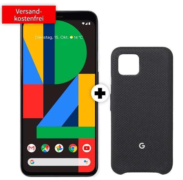 Google Pixel 4 (49€) o. Pixel 4 XL (149€) + Vodafone green LTE (D2-Netz, All-Net Flat, 10GB LTE) für 36,99€ mtl.
