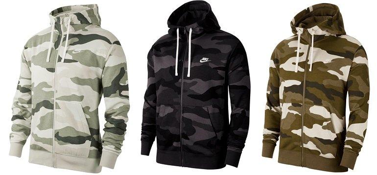 Nike Sportswear Club BB Camo Kapuzenjacke