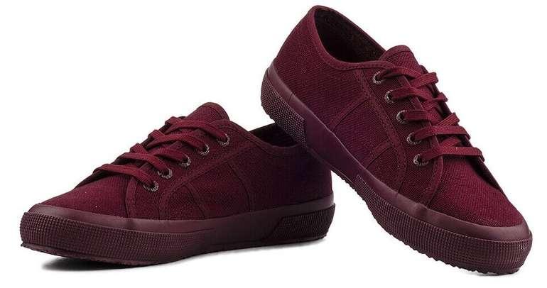 Superga 2750 Cotu Classic Damen Sneaker in Bordeaux für 19,92€ inkl. Versand (statt 30€)