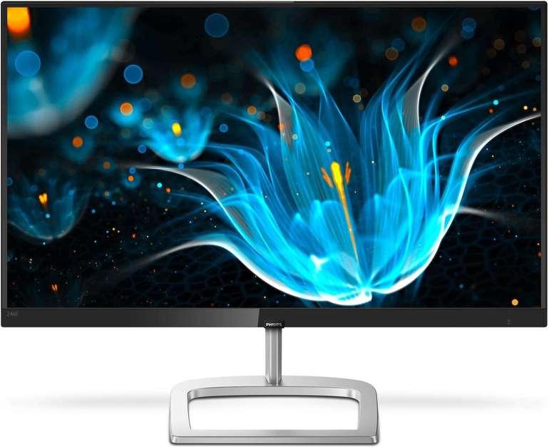 """Philips 246E9QJAB 23,8"""" Full-HD Monitor (5ms, FreeSync, 60 Hz) für 99€ inkl. VSK (statt 140€)"""