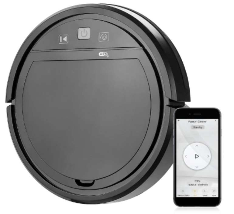 Tuya Wifi 3-in-1 Staubsauger-Roboter (1500Pa, Kompatibel mit Alexa & Google) für 56,94€ inkl. Versand