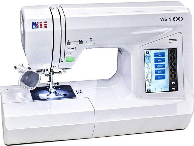 W6 N 8000 Computergesteuerte Nähmaschine für 521,99€ inkl. Versand