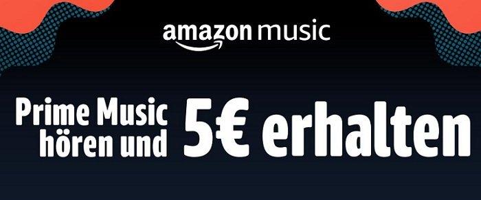 Amazon Prime Music Gutschein