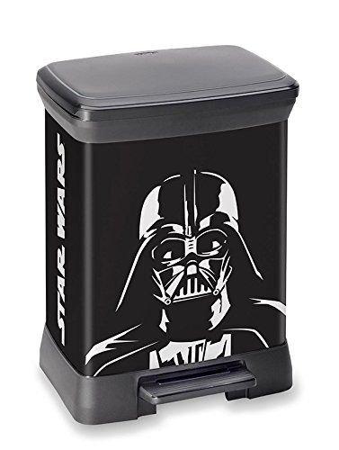 Verschiedene Curver Abfalleimer reduziert, z.B. Deco Bin Star Wars mit 30 Liter Volumen für 24,24€