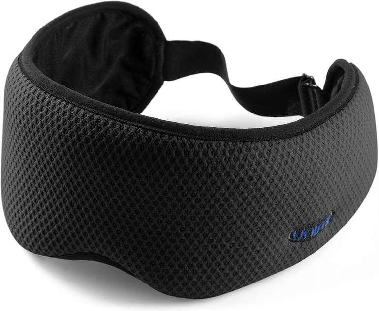 Unimi lichtblockierende Schlafmaske mit Aufbewahrungstasche für 5,25€ inkl. Prime Versand (statt 6€)