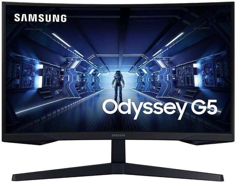 """Samsung Odysses G5 (C27G54TQWR) - 27"""" Gaming Monitor (144Hz, 1ms, WQHD) für 215,37€ (statt 250€)"""