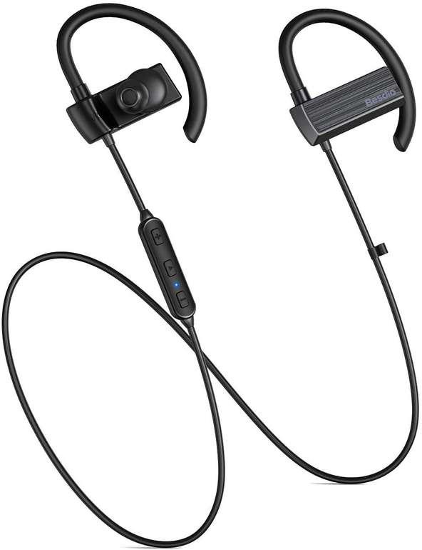 Besdio BE-EH005 Bluetooth Kopfhörer (aptX, IPX7) für 11,99€ inkl. Versand (statt 30€)