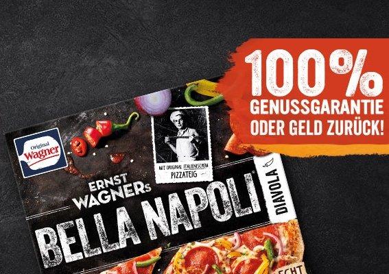 Wagner Pizza Bella Napoli: Genussgarantie oder Geld zurück