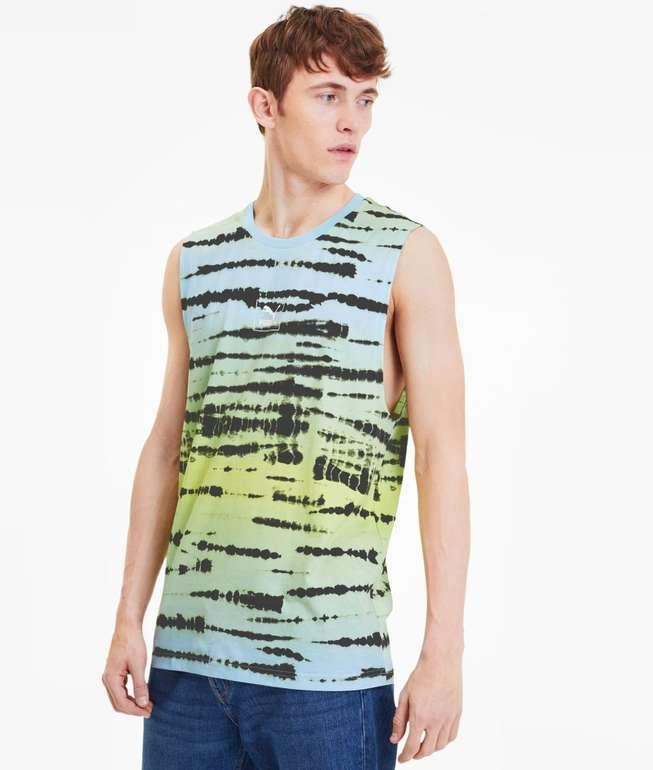 Puma Tie Dye Allover-Print Herren Tank-Top in 2 Farben für je 10,87€ inkl. Versand (statt 33€)
