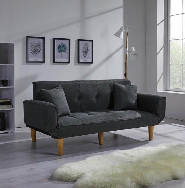 """Sofa """"Miriam"""" mit Schlaffunktion und Kissen für 155,25€ inkl. Versand (statt 219€) - Bonuscard!"""