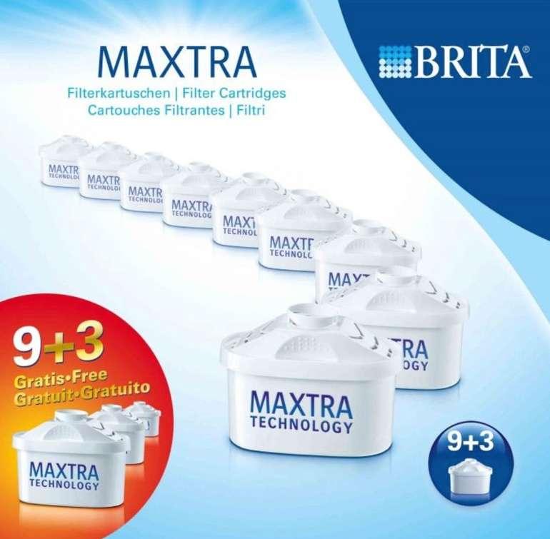 12er Pack Original Brita Maxtra Plus + Wasserfilter Kartuschen für 46,71€ inkl. Versand (statt 52€)