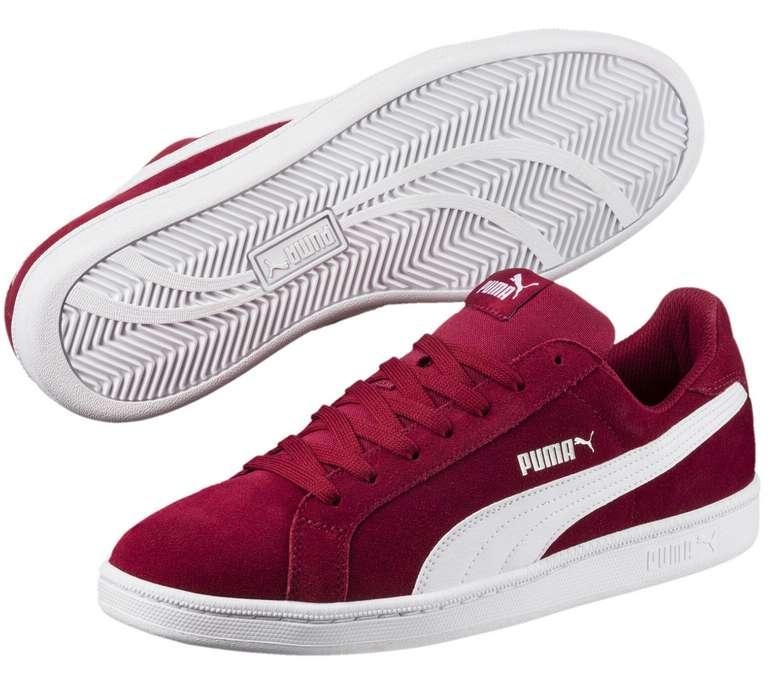 Puma Smash Suede Sneaker (versch. Farben) für je 26,95€ inkl. Versand (statt 40€)