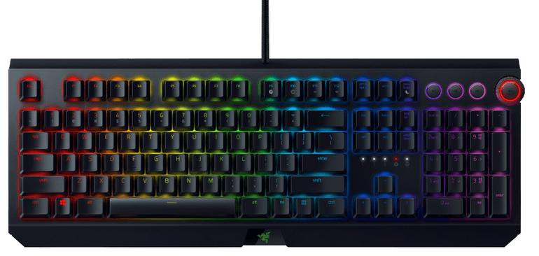 Razer Blackwidow Elite Green Switch Gaming Tastatur für 109€ (statt 130€)