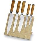 6-tlg. Echtwerk W-DM-0377-2 Damaszener Messerset + Magnet-Messerblock für 109€