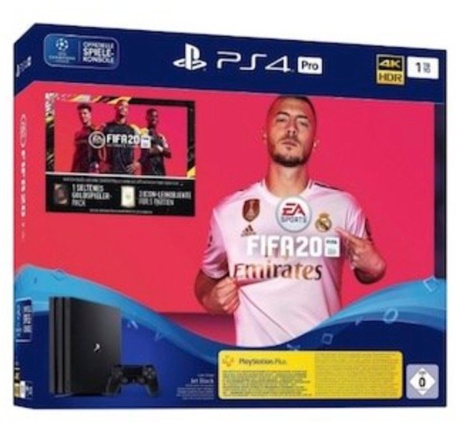 Sony PS4 Pro Fifa 20 Bundle (4,95€) + congstar Allnet Flat Plus (10GB LTE, Telekom) für 25€ mtl.