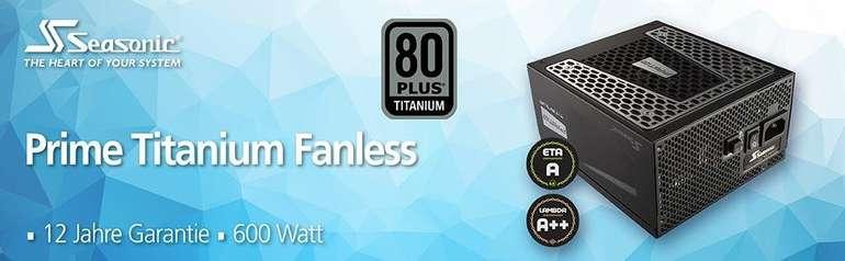 Seasonic Prime Titanium Fanless 600W ATX