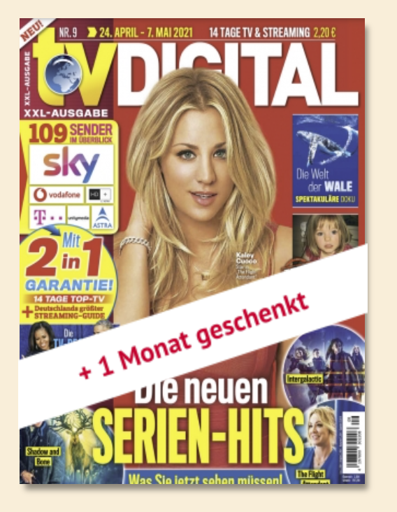 Mini Abo: 8 Ausgaben TV Digital XXL für 15,90€ + 15€ Verrechnungsscheck