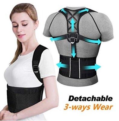 ikeepi Haltungskorrektur Schulter/Rücken (verstellbar, atmungsaktiv) für 8€ inkl. Versand (statt 20€)