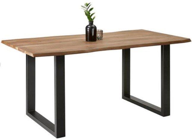 esstisch-aus-akazie-echtholz-ca-160x85cm-malmo-schwarz-akaziefarben-modern-holz-metall-bessagi-home