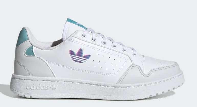 Adidas Back to School Aktion mit 30% Rabatt auf ausgewähltes - z.B. NY 90 Damen Schuh in Cloud White für 56€ (statt 80€)