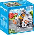 Playmobil City Life (70051) - Notarzt-Motorrad mit Blinklicht für 7,99€ (statt 15€) - Prime Versand!