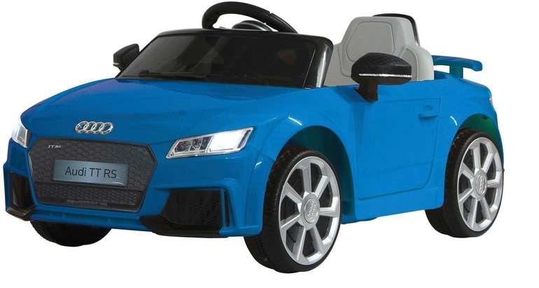 Jamara Kinder-Elektroauto Audi TT RS in 3 Farben für je 114,98€ inkl. Versand (statt 143€)