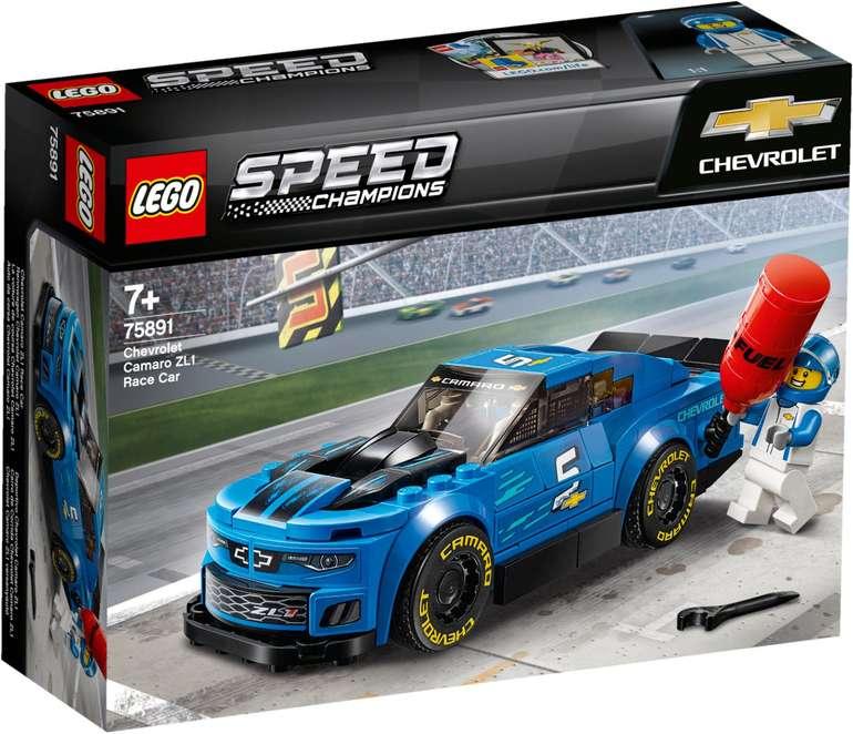 Lego Speed Champions 75891 - Rennwagen Chevrolet Camaro ZL1 für 10,21€ (statt 16€) - Prime!