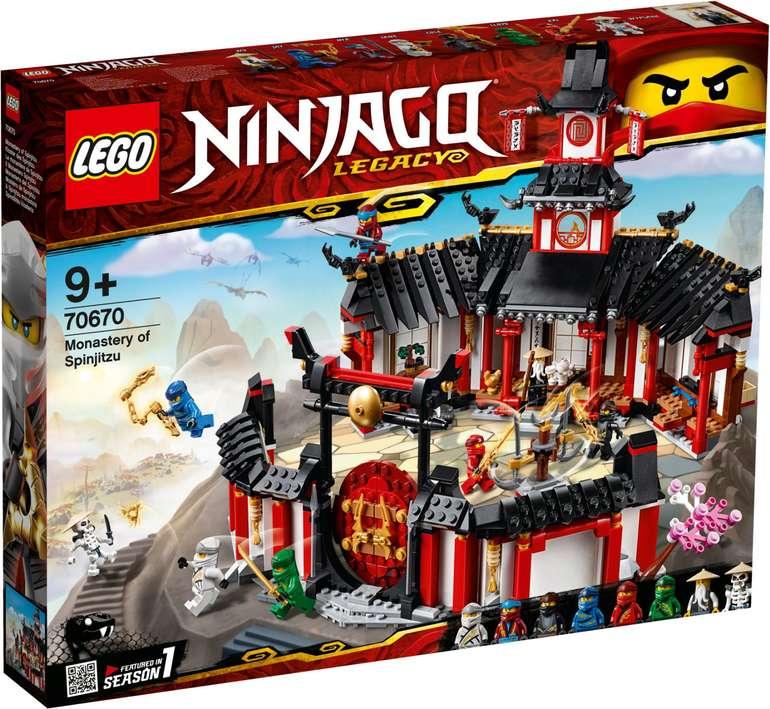LEGO 70670 Ninjago - Kloster des Spinjitzu für 49,99€ (statt 62€)