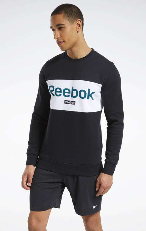 Reebok Essentials Linear Logo Sweatshirt für 21,90€ inkl. Versand (statt 27€)