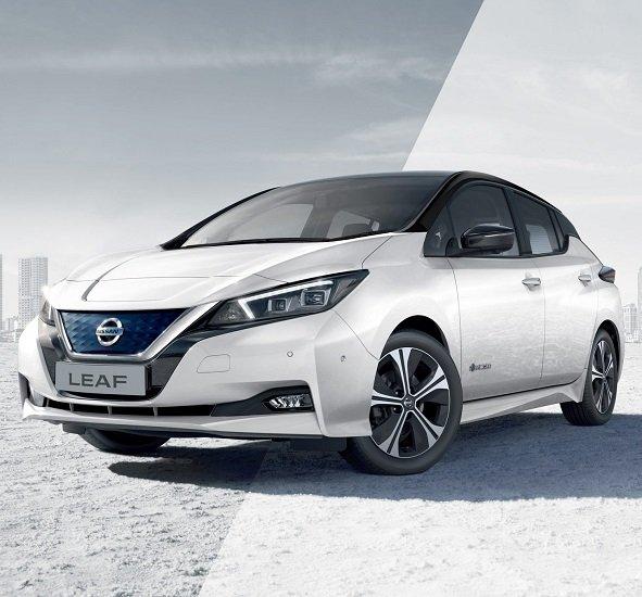 Privat + Gewerbeleasing: Nissan Leaf (Elektro, 150 PS, 270km Reichweite) für 85€ brutto monatlich (LF: 0,28)
