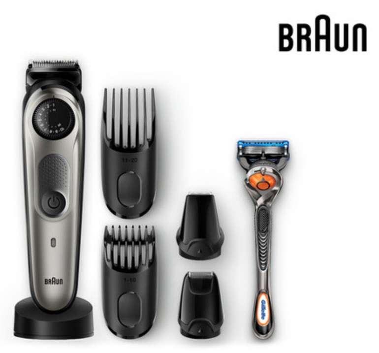 Braun BT 7040 Barttrimmer mit Präzisionsrad und 4 Aufsätzen für 50,90€ inkl. Versand (statt 63€)