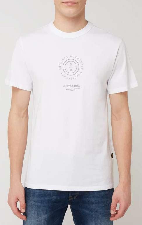 G-Star Raw Cn Circle & Back Logo Ref T-Shirt für 9,99€inkl. Versand (statt 20€)