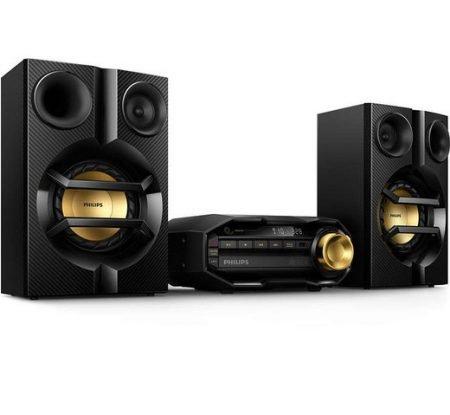 Philips Hifi-System FX10/12 (Bluetooth, 230 W) für 105,90€ (statt 191€)