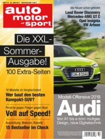 """6 Ausgaben """"auto motor und sport"""" + Smartwatch für 19,90€"""