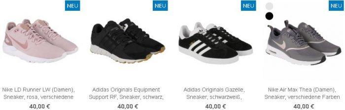 Tedi: Black Sale mit verschiedenen Markenschuhen für 40€, zB…