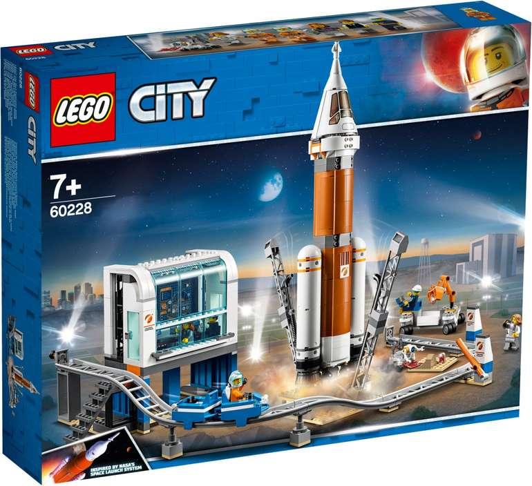 LEGO City 60228 – Weltraumrakete mit Kontrollzentrum für 64,90€ (statt 75€)