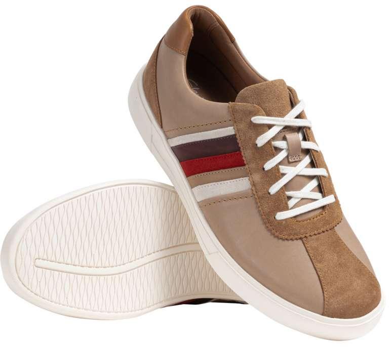 Clarks Schuh Sale bei SportSpar - z.B. Clarks Un Costa Band Herren Leder Sneaker für 44,99€ (statt 60€)