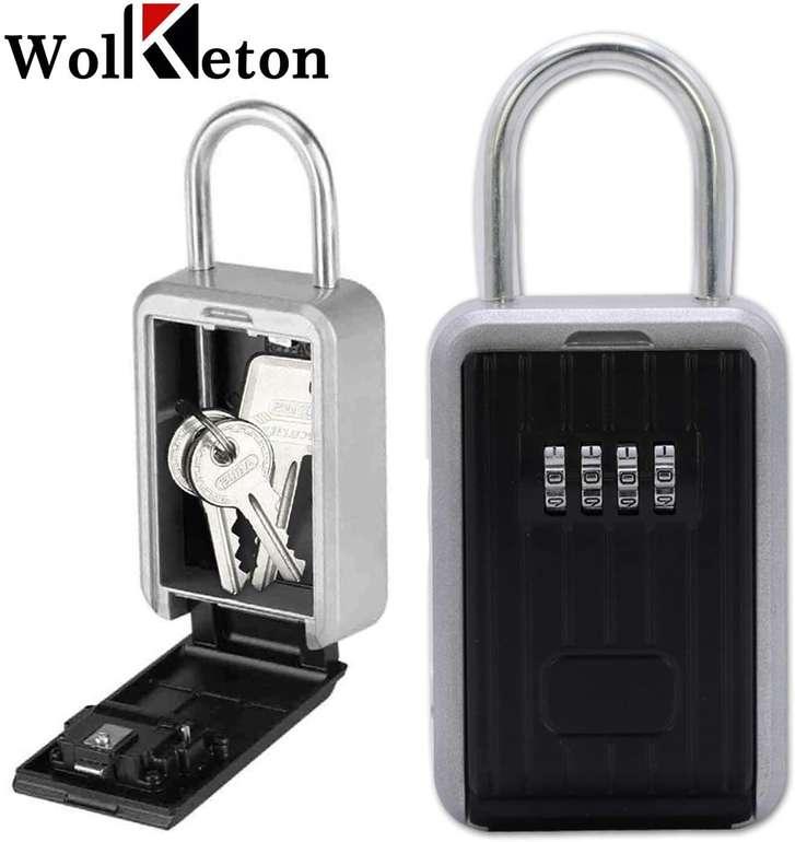 Wolketon Schlüsseltresor mit Zahlenschloss (3 Modelle) ab 10,49€ inkl. Versand