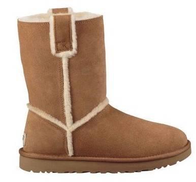 UGG Classic Short Spill Seam Damen Boots für 76,41€ inkl. Versand (statt 122€)