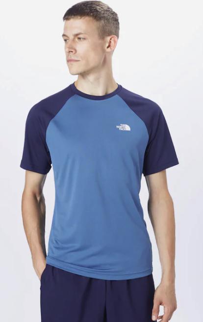 The North Face Sportshirt in blau-navy für 13,90€ inkl. Versand (statt 30€)