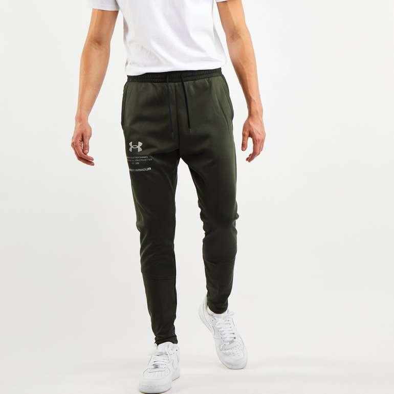 Under Armour Fleece 1/2 Zip Track Jogginghose in zwei Farben für 31,99€ inkl. Versand (statt 40€)