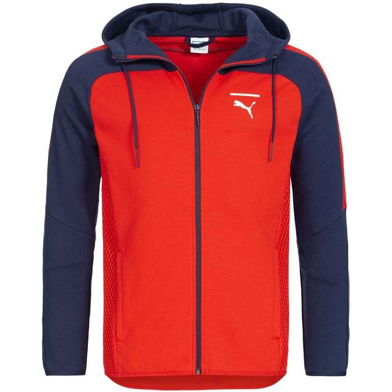 Puma Pace Net Colorblock Full Zip Herren Sweatjacke für 29,94€ inkl. VSK (statt 70€)