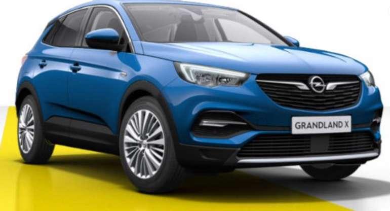 Gewerbe Leasing: Opel Grandland X Ultimate 2.0 mit 177 PS für 49,80€ netto mtl. (LF: 0,12) - Vorführwagen!