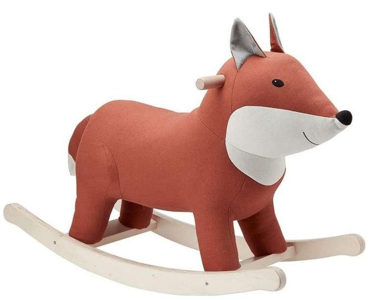 Kids Concept® Schaukeltier Fuchs in braun für 94,46€ inkl. Versand (statt 105€)