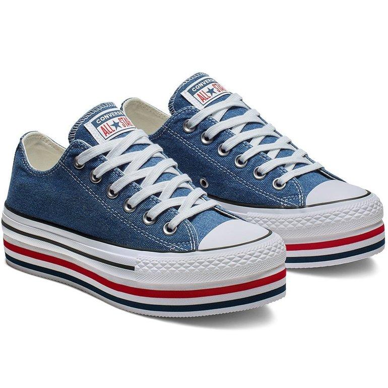 Converse Damen Sneaker All Star Platform Ox für 50,52€ inkl. VSK