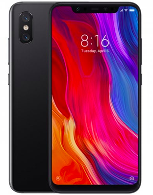 """Xiaomi Mi 8 - 6,2"""" Phablet (Schwarz o. Weiß) mit 128GB und Dual-SIM für 343,80€"""