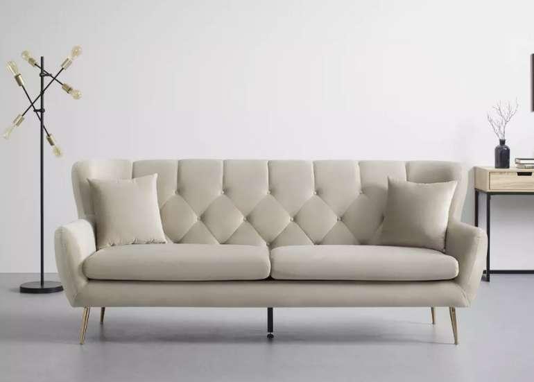 "Bessagi Home Sofa ""Liliana"" in Beige für 419,30€inkl. Versand (statt 599€)"