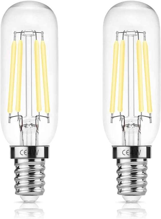 Doresshop Leuchtmittel bei Amazon reduziert, z.B. 2er Set Dunstabzugshauben Lampe für 4,99€ inkl. Prime Versand