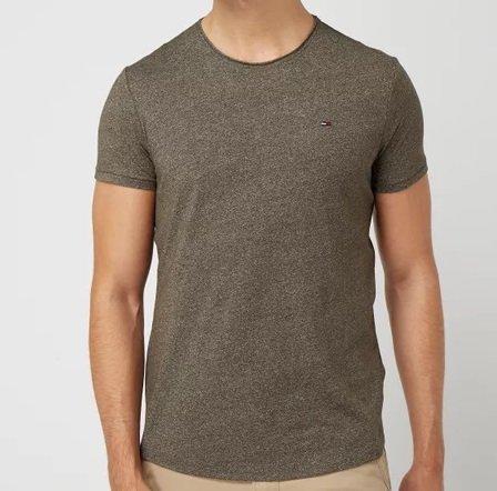 Tommy Hilfiger Jeans T-Shirt mit Logo-Stickerei für 19,99€ (statt 33€)